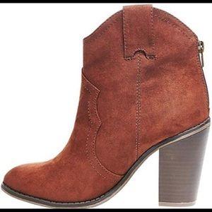 Merona booties cowgirl style size 9.5